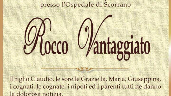 È morto Rocco Vantaggiato