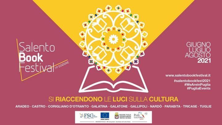 """Presentata l'XI edizione del """"Salento Book Festival"""": 10 i Comuni coinvolti dal 26 giugno sino ad agosto"""