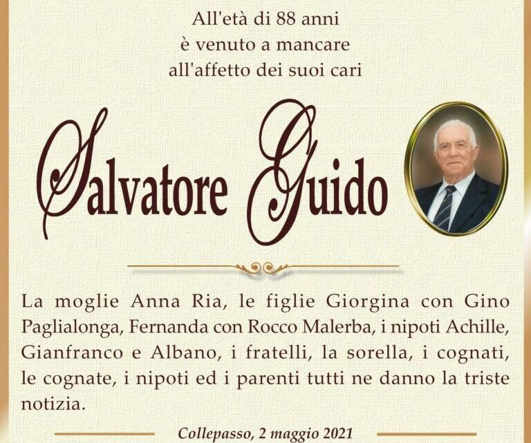 È morto Salvatore Guido