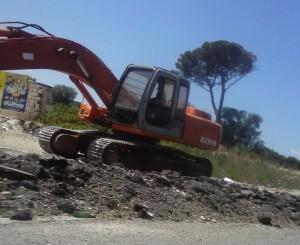 escavatore rondò