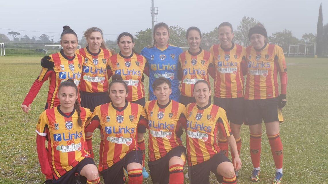 Serie C femminile: Lecce Women vince fuori casa (6-1) con il Formello