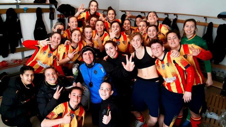 Serie C femminile: è giallorosso il derby pugliese (Lecce Women-Apulia Trani 1-0)